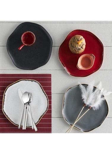 Porland Pure Seasons Kırmızı Yemek Takımı 3 Parça Renkli